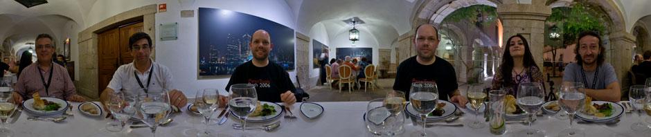 Gala dinner in Palmela