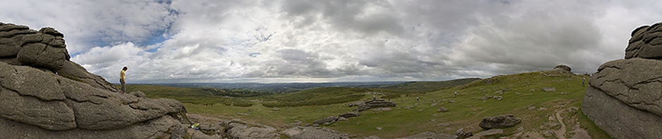 Haytor South View