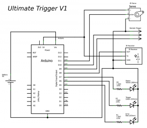Ultimate Trigger V1 - Schematic