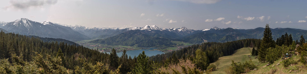 Tegernsee seen from Neureuth Hütte