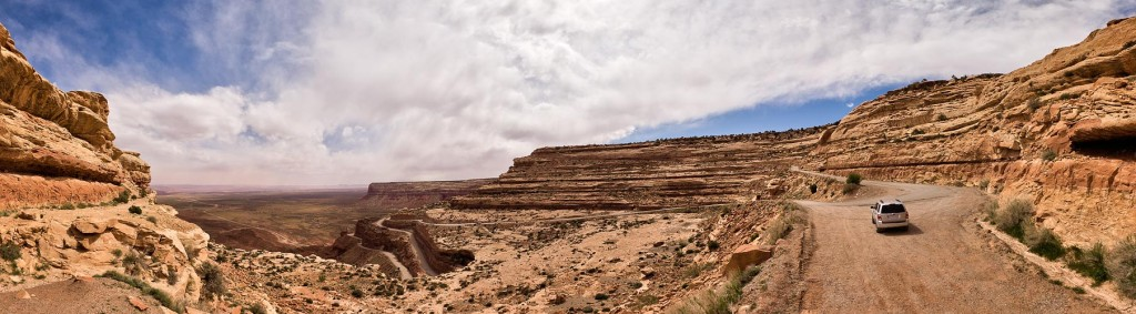 Panorama at Moki Dugway