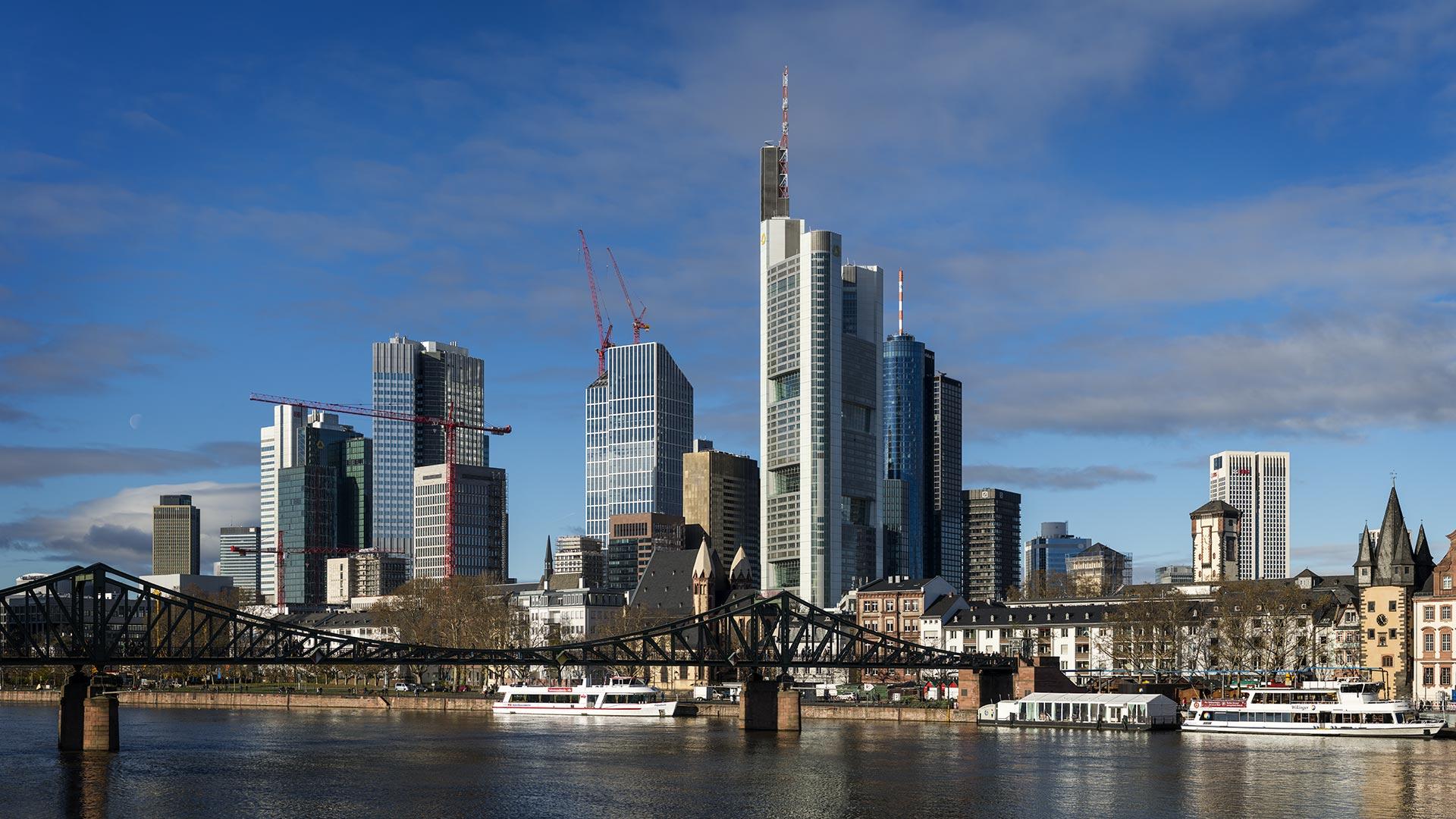 Skyline Frankfurt am Main 2013 – PanoTwins