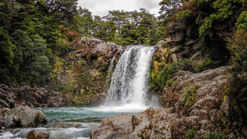 Tawhai Falls in Tongariro National Park