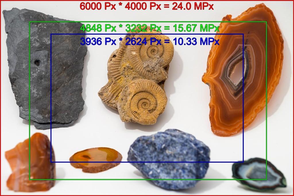 Comparison of image crops when using LA-EA2 and LA-EA4 in a Sony ILCE-7