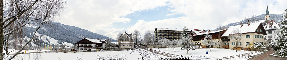 White Easter in Bad Hindelang