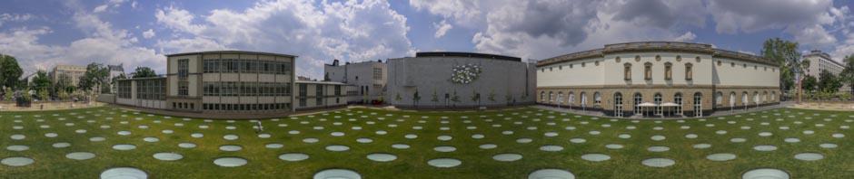 Staedel Museum Frankfurt Courtyard