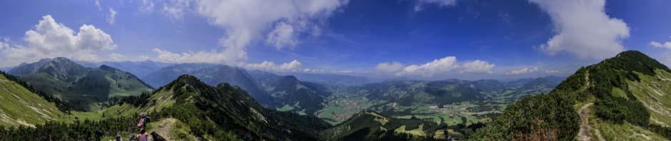 Viewpoint near Iseler summit