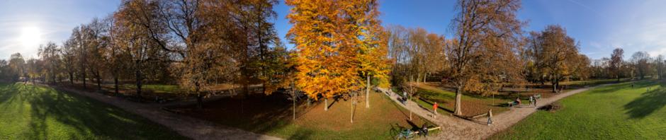 Bayernpark in November