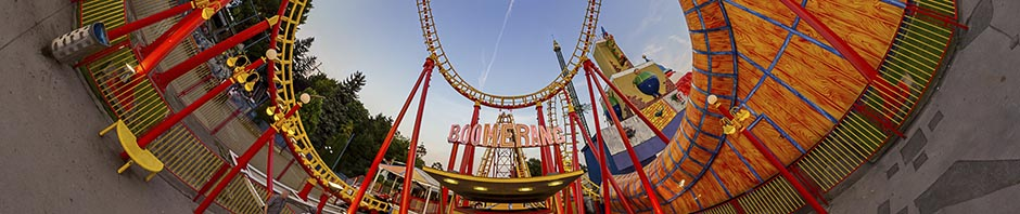 Wiener Prater Boomerang – Stereographic Up