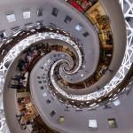 Café Fünf Höfe Droste Double Spiral