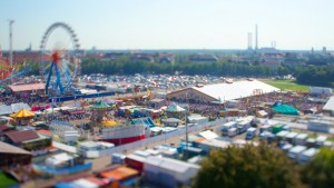 Oktoberfest Tilt-Shift Effect @ 24mm