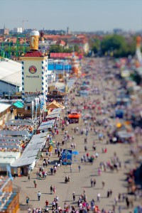Oktoberfest Tilt-Shift Effect @ 50mm