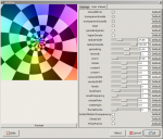 Screenshot of Mathmap parameter settings dialog