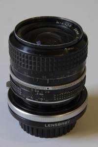 Nikon 24mm/F2.8 and Lensbaby Tilt Transformer