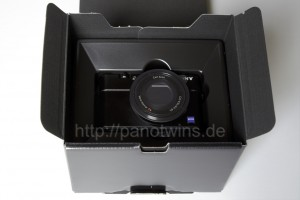 Sony Cyber-shot DSC-RX100 Box Open Camera