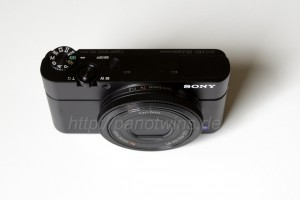 Sony Cyber-shot DSC-RX100 Top