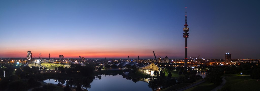 Sunset Over Olympic Park