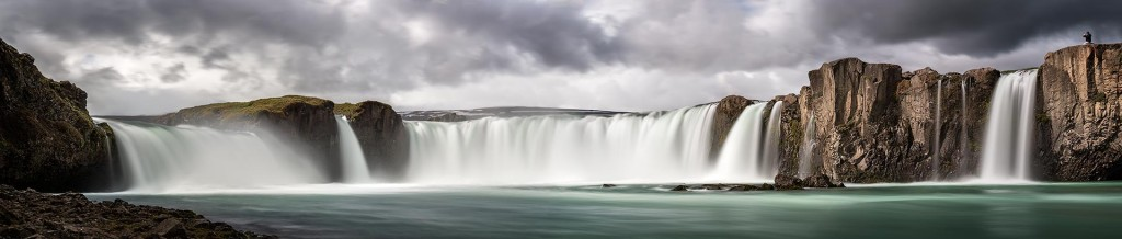Goðafoss at day (8 sec.)