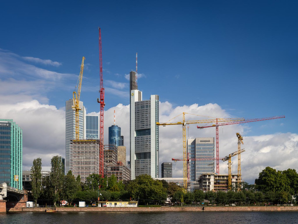 Skyline of Frankfurt am Main (August 2014)