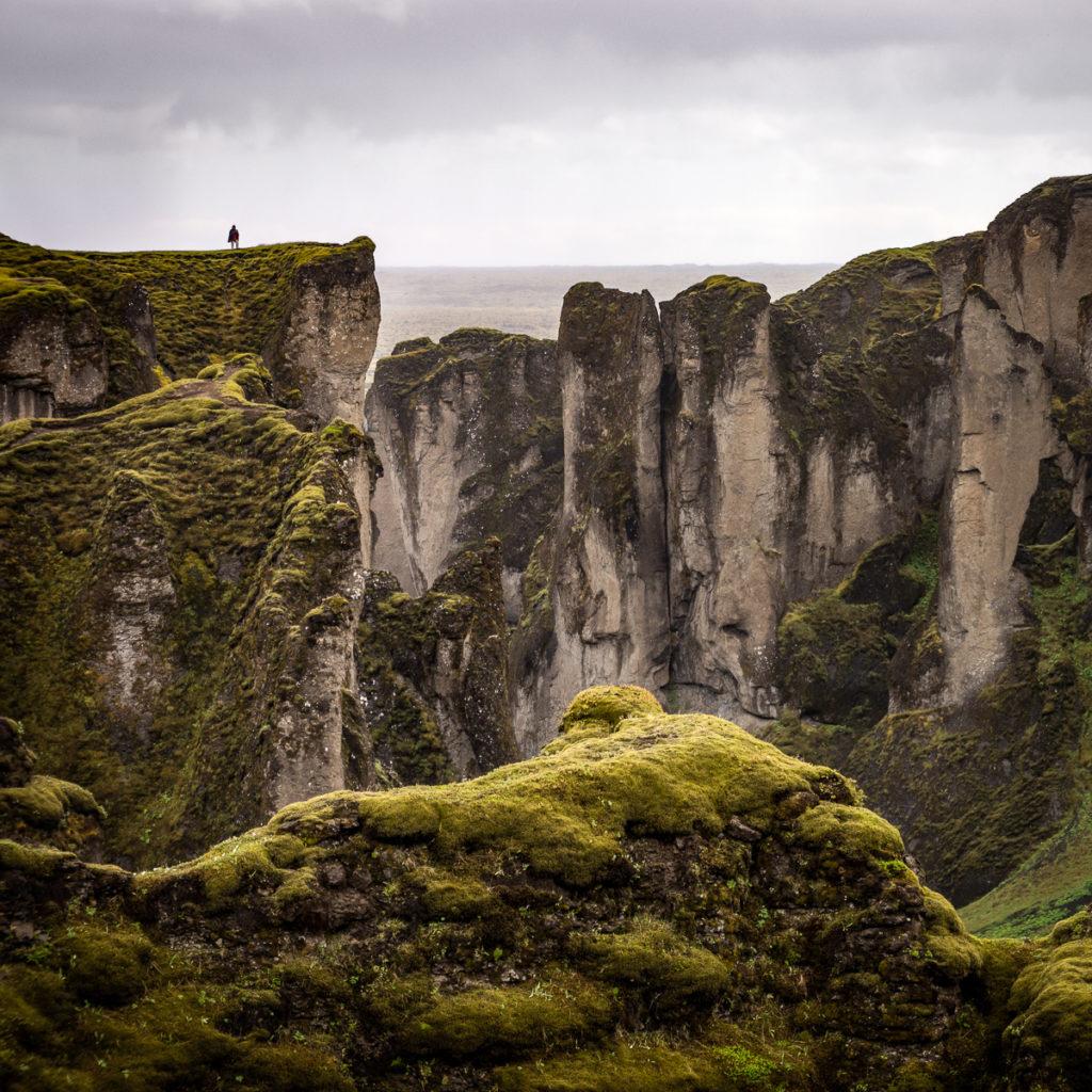 Fjaðrárgljúfur in Iceland