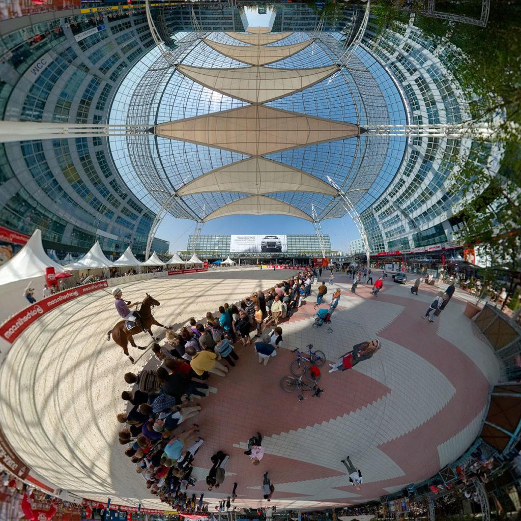 Munich Airport Arena Polo - Transverse Mercator