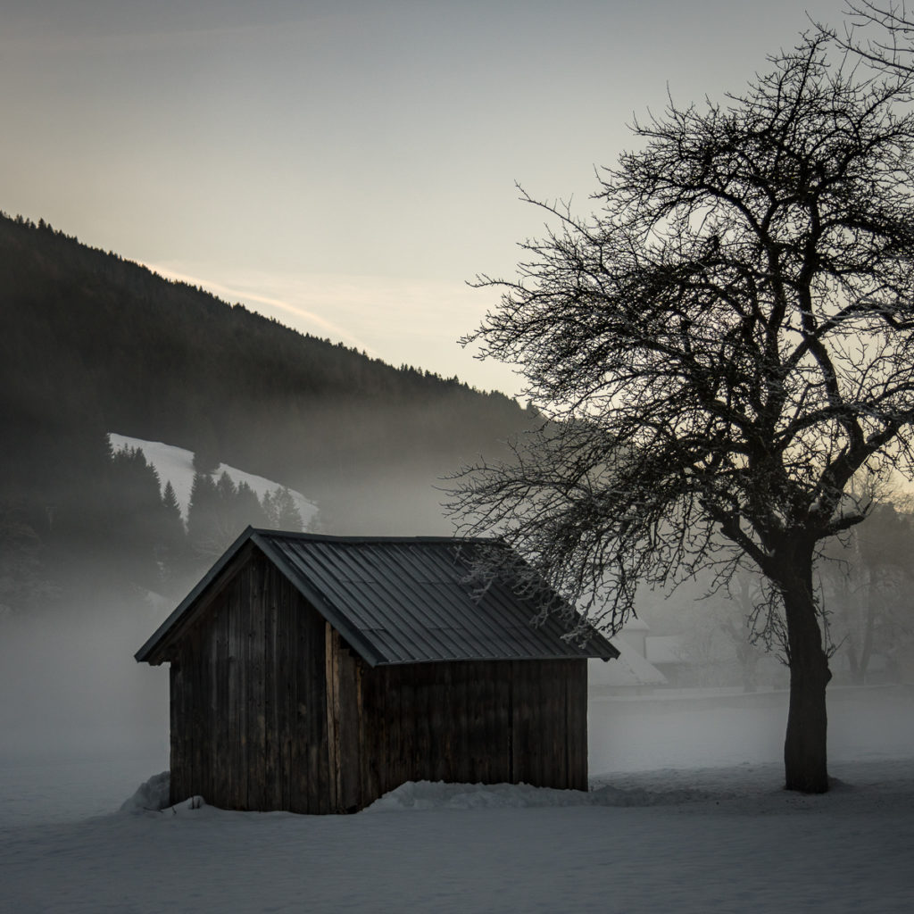 Winter impression of Bavaria
