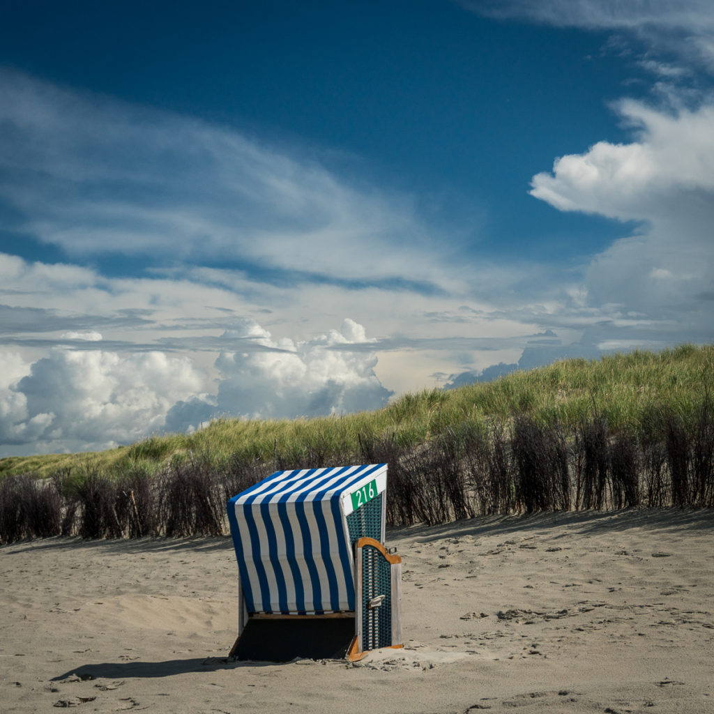 At the white dune (Norderney)