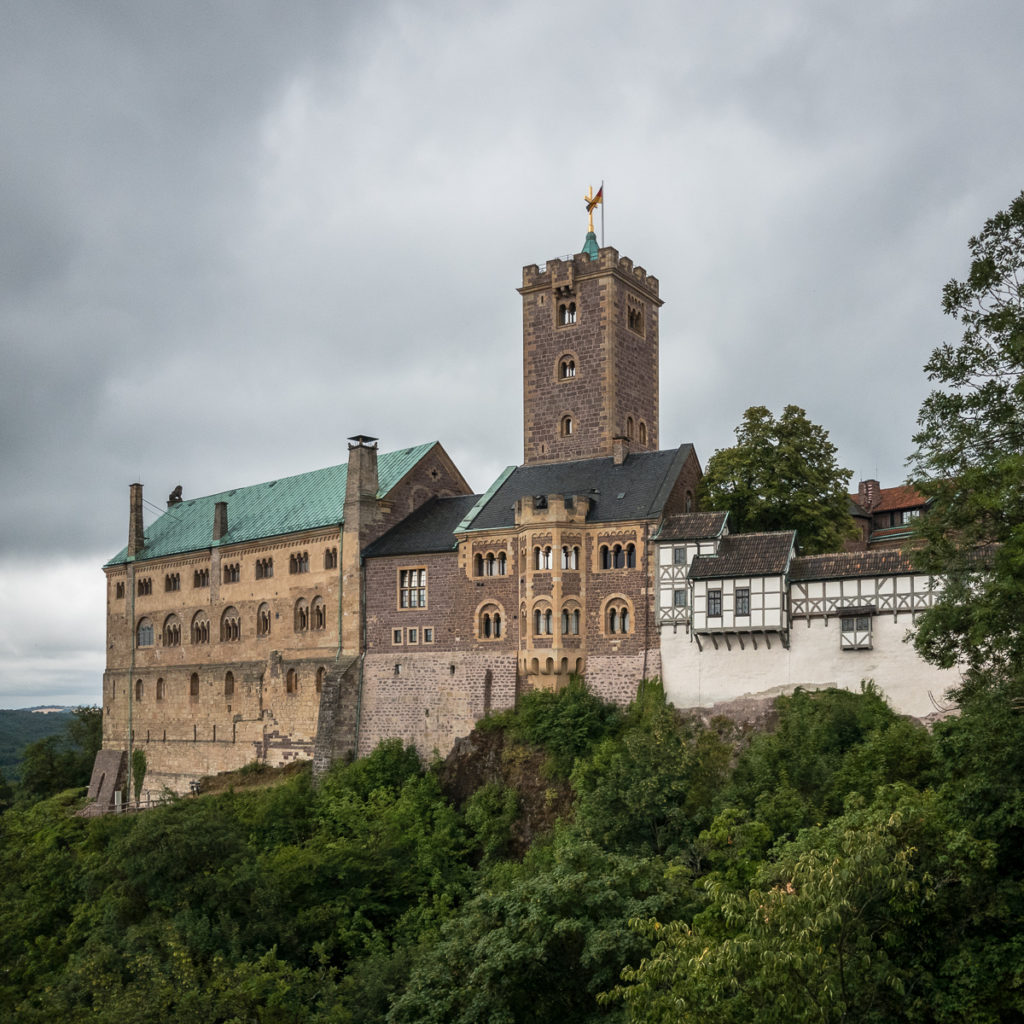 Wartburg, a famous german castle.